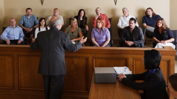 Addressing a Jury
