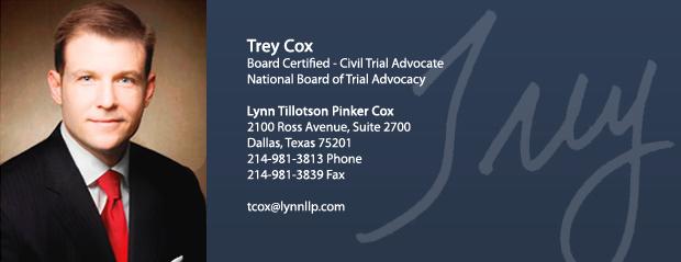 Trey Cox Bio